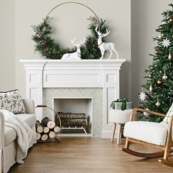 Neutral Winter Decoration Ideas For Your Home 07