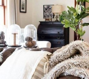 Neutral Winter Decoration Ideas For Your Home 28