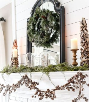 Neutral Winter Decoration Ideas For Your Home 39