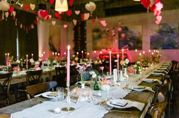 Romantic Valentines Day Wedding Inspiration Ideas 12