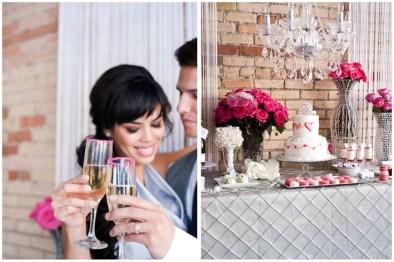 Romantic Valentines Day Wedding Inspiration Ideas 23