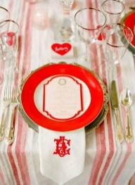 Romantic Valentines Day Wedding Inspiration Ideas 26