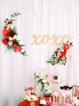 Romantic Valentines Day Wedding Inspiration Ideas 37
