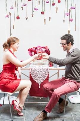 Romantic Valentines Day Wedding Inspiration Ideas 44