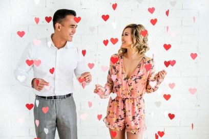 Romantic Valentines Day Wedding Inspiration Ideas 54