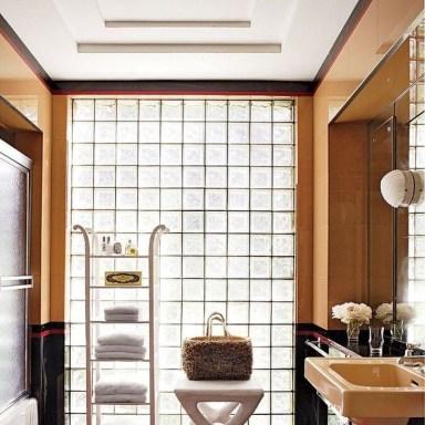 Simple But Modern Bathroom Storage Design Ideas 07
