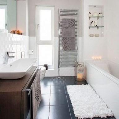 Simple But Modern Bathroom Storage Design Ideas 08