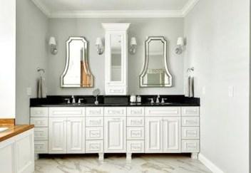 Simple But Modern Bathroom Storage Design Ideas 12