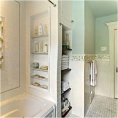 Simple But Modern Bathroom Storage Design Ideas 13