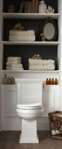 Simple But Modern Bathroom Storage Design Ideas 19