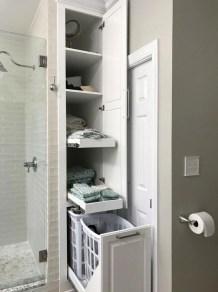 Simple But Modern Bathroom Storage Design Ideas 20