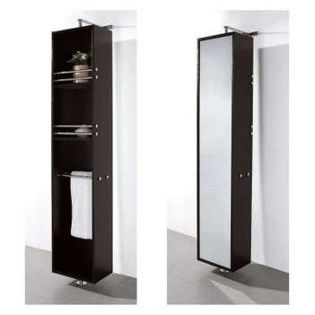 Simple But Modern Bathroom Storage Design Ideas 26