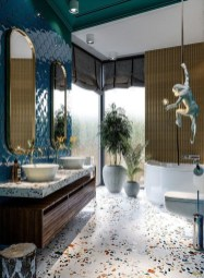 Simple Traditional Bathroom Design Ideas 36