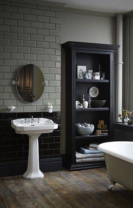 Simple Traditional Bathroom Design Ideas 46
