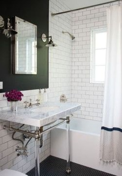 Simple Traditional Bathroom Design Ideas 54