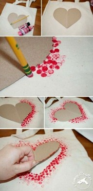 Sweet Heart Crafts Ideas For Valentines Day 16