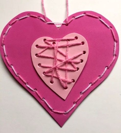 Sweet Heart Crafts Ideas For Valentines Day 20
