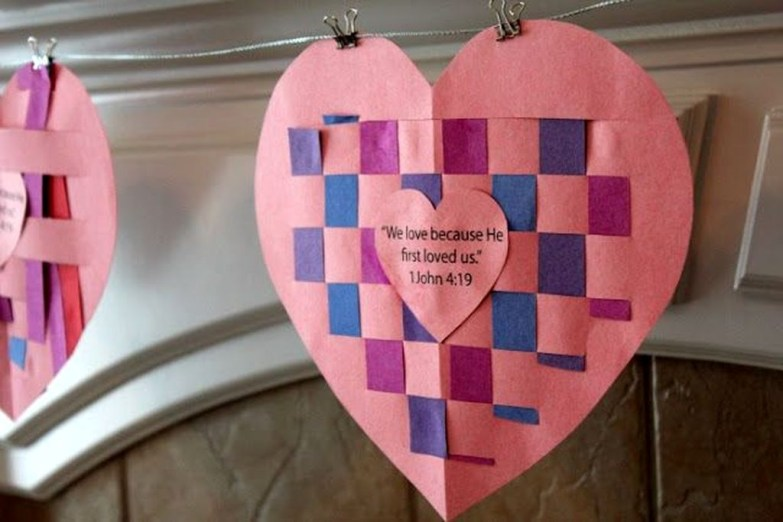 Sweet Heart Crafts Ideas For Valentines Day 27