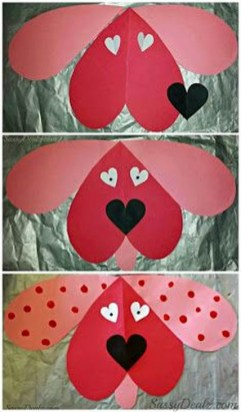 Sweet Heart Crafts Ideas For Valentines Day 35