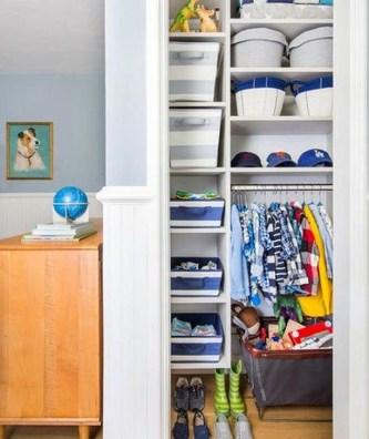 Totally Inspiring Kids Closet Organization Ideas 27