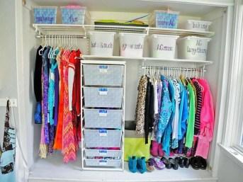 Totally Inspiring Kids Closet Organization Ideas 45