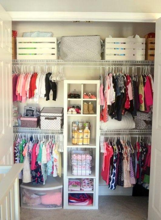 Totally Inspiring Kids Closet Organization Ideas 46