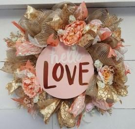 Wonderful DIY Valentines Wreath Decor Ides 19