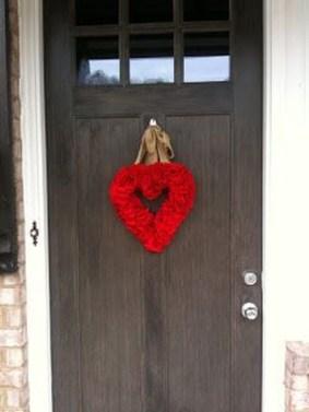 Wonderful DIY Valentines Wreath Decor Ides 30