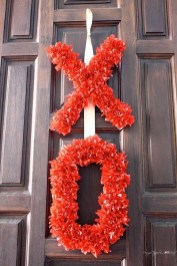 Wonderful DIY Valentines Wreath Decor Ides 35