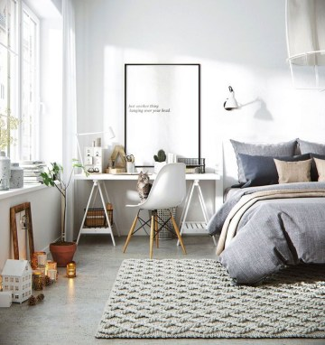 Astonishing Scandinavian Bedroom Design Ideas 08