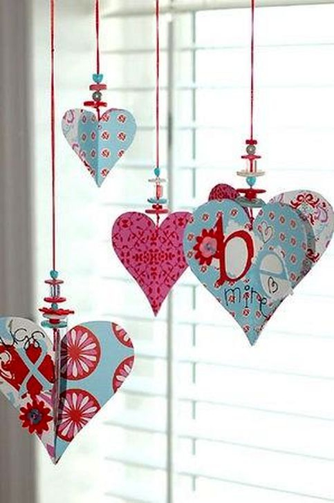 Awesome Homemade Decorations For Valentines Day 20