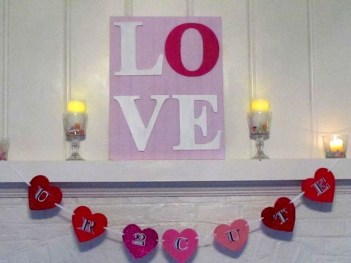 Awesome Homemade Decorations For Valentines Day 34