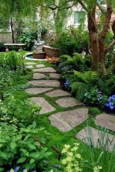 Best DIY Garden Path Designs You Can Bulid To Complete Your Gardens 22