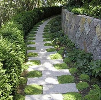 Best DIY Garden Path Designs You Can Bulid To Complete Your Gardens 24