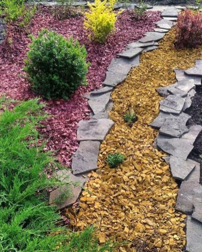 Best DIY Garden Path Designs You Can Bulid To Complete Your Gardens 26