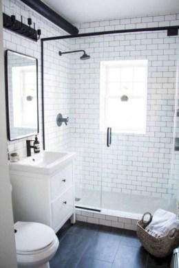 Cool Tiny House Bathroom Remodel Design Ideas 24