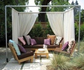 Cozy Gazebo Design Ideas For Your Backyard 04
