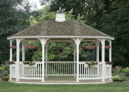 Cozy Gazebo Design Ideas For Your Backyard 10