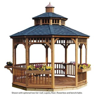 Cozy Gazebo Design Ideas For Your Backyard 12