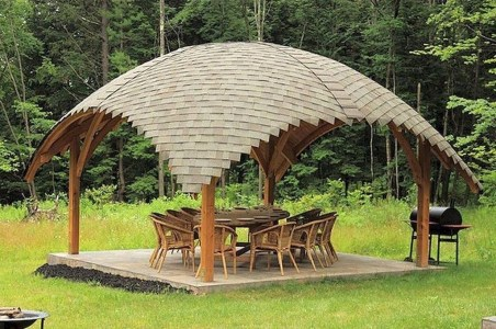Cozy Gazebo Design Ideas For Your Backyard 29