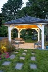 Cozy Gazebo Design Ideas For Your Backyard 31
