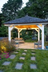 Cozy Gazebo Design Ideas For Your Backyard 31