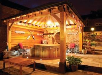Cozy Gazebo Design Ideas For Your Backyard 44