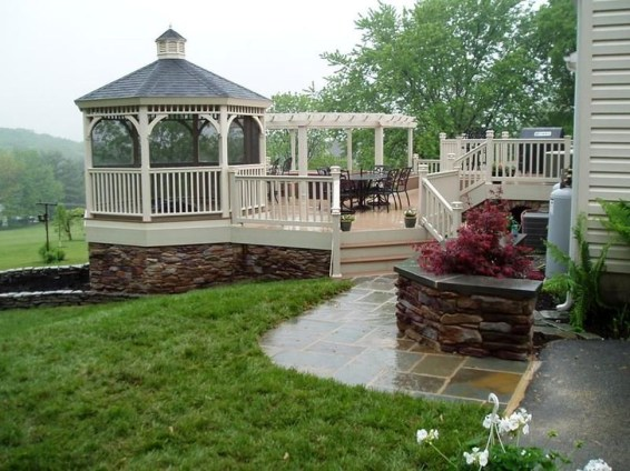 Cozy Gazebo Design Ideas For Your Backyard 47