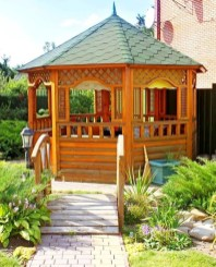 Cozy Gazebo Design Ideas For Your Backyard 52
