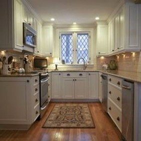 Creative U Shaped Kitchen Remodel Ideas 02