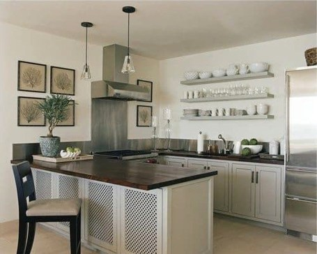 Creative U Shaped Kitchen Remodel Ideas 19