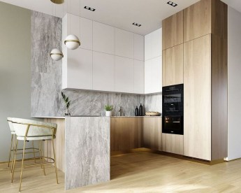 Creative U Shaped Kitchen Remodel Ideas 33