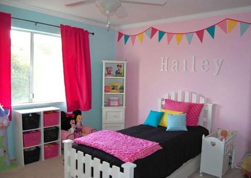 Cute Pink Bedroom Design Ideas 03