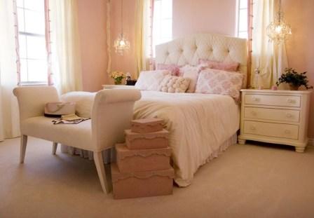 Cute Pink Bedroom Design Ideas 09